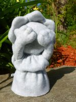 Weeping Angel Plushie by greenchylde