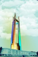 Quezon City Memorial Circle by n00beeprince