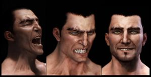 Facial Expressions renders by mojette