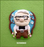 Carl Friediksen UP - Clay fanart by buzhandmade
