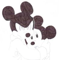 Count Mickey and adoptive child by warriormoonnight
