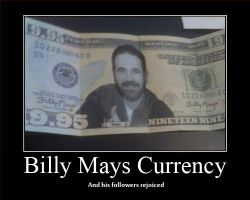 Billy Mays Demotional Picture by darklightartist