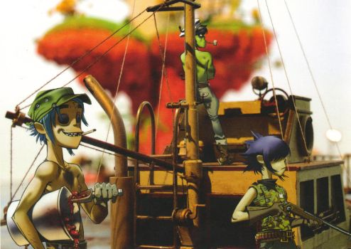 Plastic Beach - Group 3 by KaktusL8
