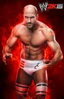 WWE 2K15 Cesaro Render by ThexRealxBanks