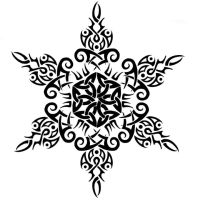 TribalCeltic Snowflake Tattoo2 by Annikki