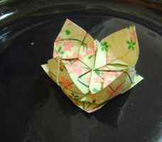 Origami Lotus by FroggyDreams