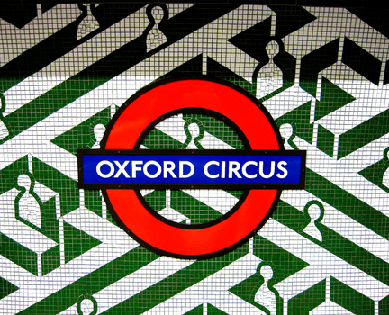 oxford circus by paujas
