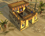 Ptolemaic Barracks v2 by LordGood