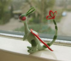330. Flygon by claydoodles