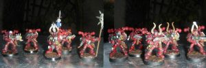 Word Bearer Chosen Squad by Irabrai