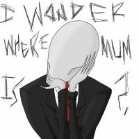 Happy Mother's Day with Slenderman by TheBiomex