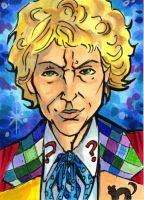 6th Doctor by bphudson