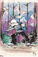 Usagi Yojimbo by TreeBeerdy