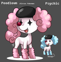 Fakemon: Poodlown by mr-tiaa