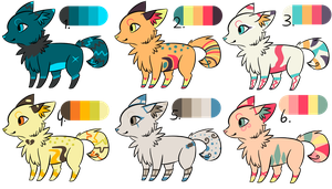 Fox Custom Adopts #3 [CLOSED] by Guswls