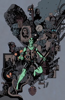 ABE SAPIEN by future-parker