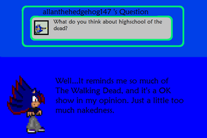 Answer To  Allanthehedgehog147's Question by AskSoloTheSoulhog