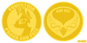 Equestrian Currency Contest Entry #1703 by PrettyKitty