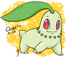 PKMN-Chikorita by BeyondInfinite