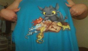 How To Train Your Dragon T-Shirt From Hot Topic by PokeLoveroftheWorld