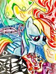 Rainbow Dash Pattern Art by Project-Parallel
