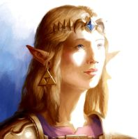 The Royal Oracle: Zelda by unsilentwill