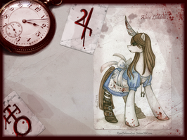 Pony Alice Madness Returns by RenePolumorfous