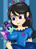 A Crystal Fairy by Jany-chan17