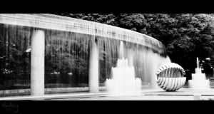 Tokyo fountain by Wunderling