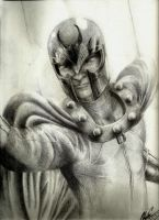 Magneto: The Master of Magnetism by EiDrianDM