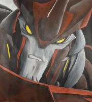 Predaking - acrylic painting by DoctorShaman