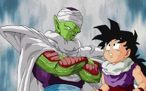Piccolo and Gohan by RuokDbz98
