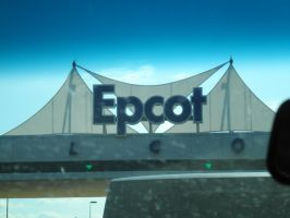 OV E1 Epcot sign by TaRtOoN-Man94