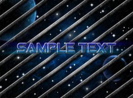 First Photoshop Space Scene by MKGraphics