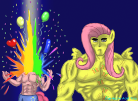 Fist of the North Shy by Zap-Apple-Acid-Trip