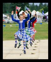 Highland Games Dancers by swashbuckler