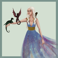 Mother of Dragons by alajna