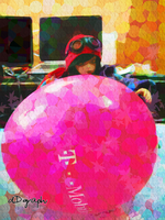 99 Red Balloons series no.4 by odoll