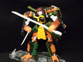 Bludgeon the Decepticon  samurai master by forever-at-peace