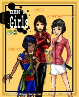Ben10: Ben's Girls by BloodBlueRain