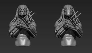 Sith Predator WIP by THECOOLGEEK