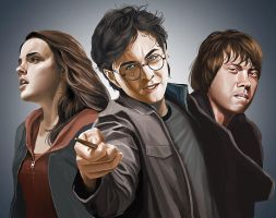 Harry Potter by chngch