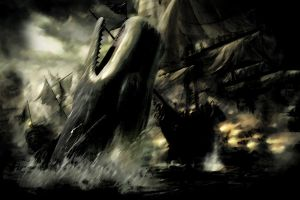 Moby Dick Wallpaper 002 by TimonTh
