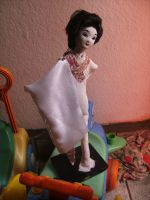 handmade jap doll by me by curlytopsan