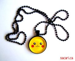 Pikachu Necklace by Sacari