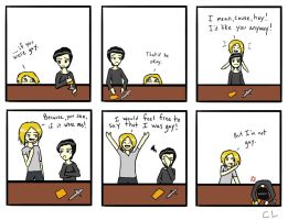 If You Were Gay (TMI Alec and Jace) by GlitterNugget