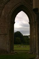 Glastonbury Abbey 8 by FoxStox
