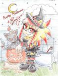witch crafty chick by Bberry-Star