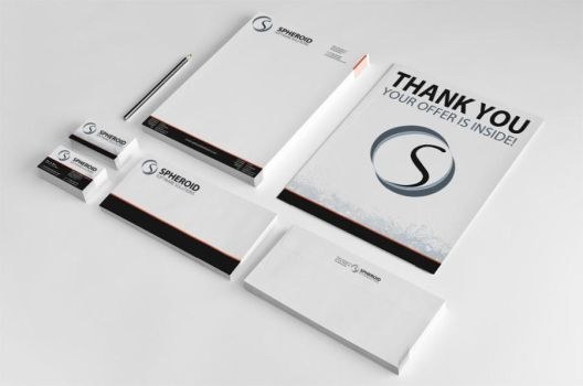 Spheroid Corporate Identity by SpheroidSoftware