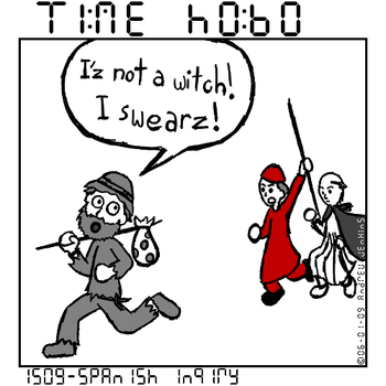 Time Hobo - 1509 by Ecleian
